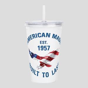 1957 American Made Acrylic Double-wall Tumbler