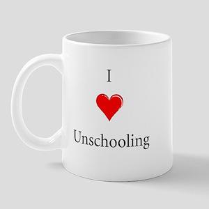 I Love Unschooling Mug