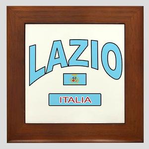 Lazio Italy Framed Tile