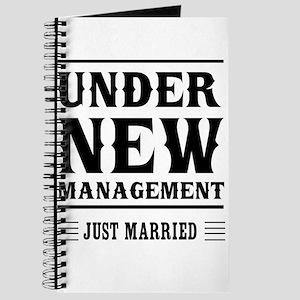 Under New Management Just Married Journal