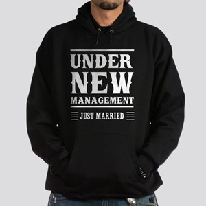 Under New Management Just Married Hoodie