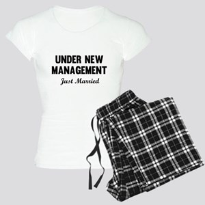 Under New Management Just Married Pajamas