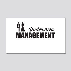 Under New Management Wall Decal