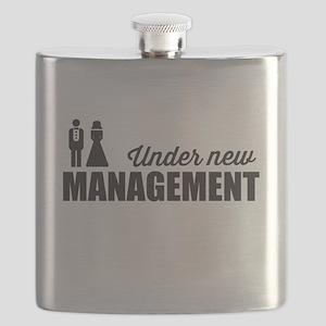 Under New Management Flask