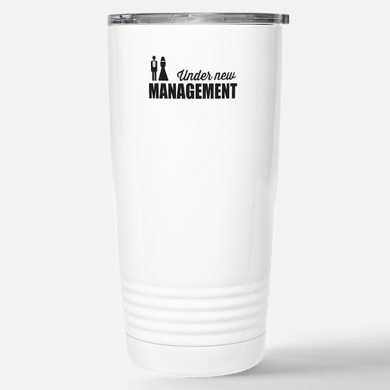 Under New Management Travel Mug