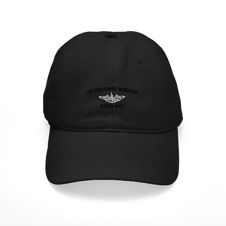 USS ALEXANDER HAMILTON Black Cap