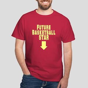Future Basketball Star Dark T-Shirt