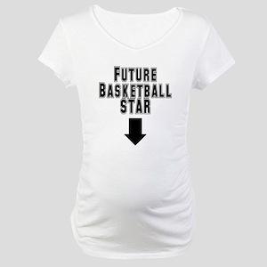 Future Basketball Star Maternity T-Shirt
