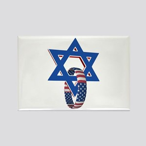 Star of David and United States Ring Magnets