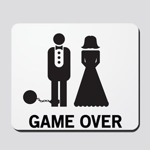 Game Over Mousepad