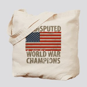 USA, Undisputed World War Champions Tote Bag