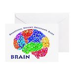 Bbbb Brain Greeting Cards