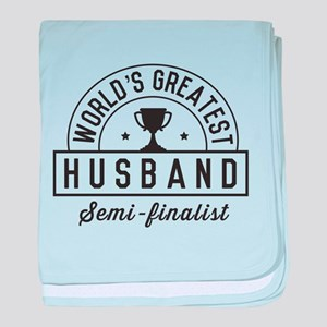 World's Greatest Husband Semi Finalist baby blanke