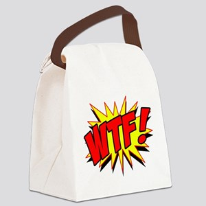 WTF! Canvas Lunch Bag
