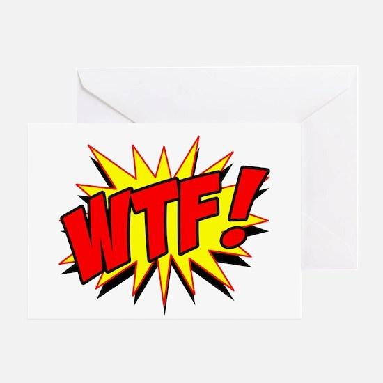 WTF! Greeting Card