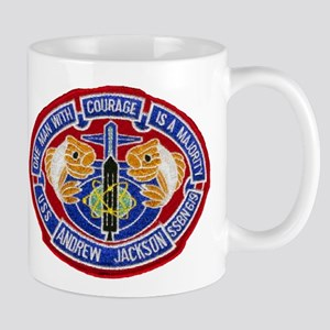 USS ANDREW JACKSON Mug