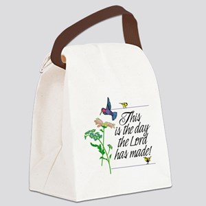 This is the day the Lord has made Canvas Lunch Bag