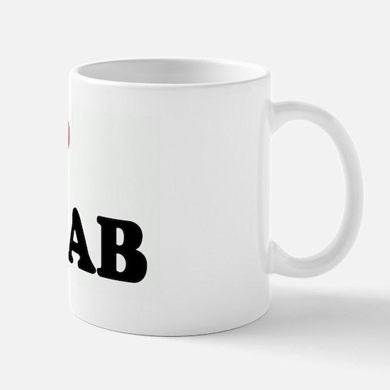 I Love MATLAB Mug