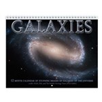 Galaxies Astronomy Wall Calendar
