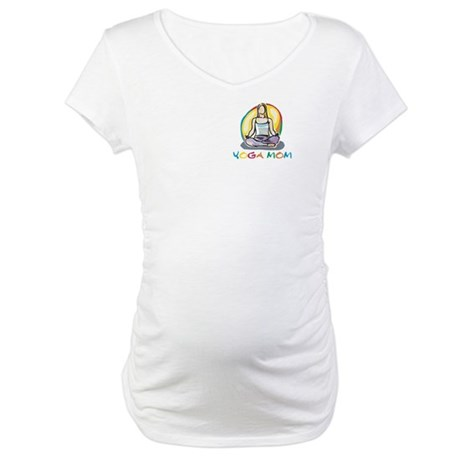 Yoga Mom Maternity T-Shirt