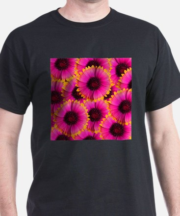 Bright Orange and Pink Flower T-Shirt