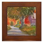 Fall in Brandywine Framed Tile