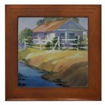 A Place in the Country Framed Tile