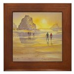 Ebb Tide Framed Tile