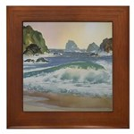 North Coast Surf Framed Tile