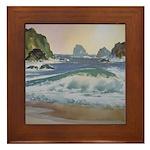 North Coast Surf Framed Tile