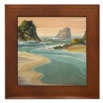 Navarro River Framed Tile