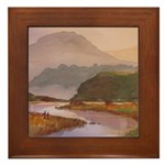 Tranquil Morning Framed Tile