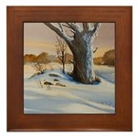 If Winter Comes Framed Tile