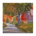 Fall in Brandywine Tile Coaster