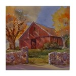 Country Cobblestone Tile Coaster