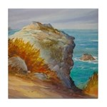 Rocks at Point Lobos Tile Coaster