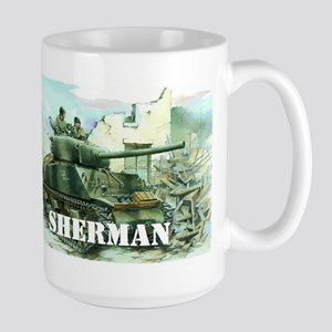 Sherman Tank Mugs