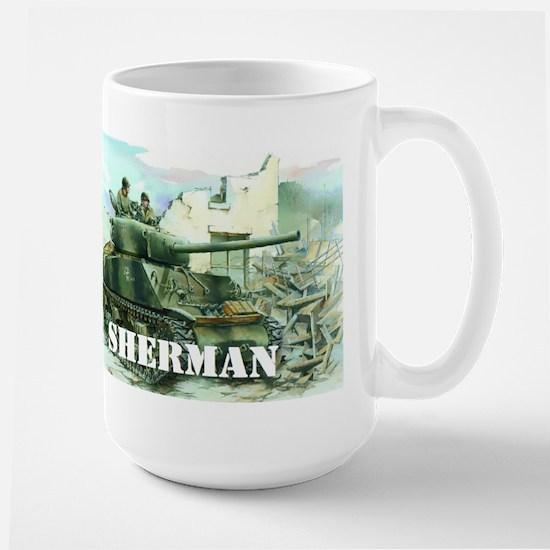 Sherman Tank Mugs