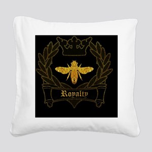 Queen Bee Square Canvas Pillow