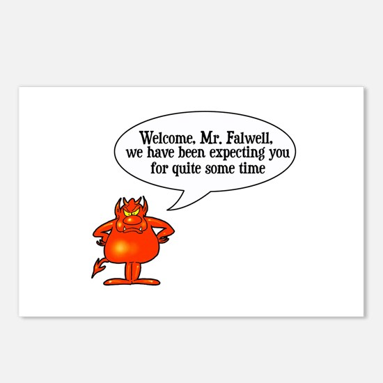 Welcome to Hell Jerry Falwell Postcards (Package o