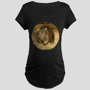 Wombat Maternity Dark T-Shirt