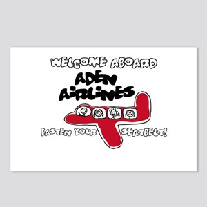 Aden Airlines Postcards (Package of 8)