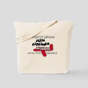 Alex Airlines Tote Bag