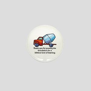 Thank you teacher gifts Mini Button