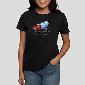 Thank you teacher gifts Women's Dark T-Shirt