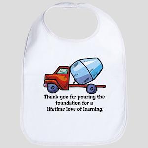 Thank you teacher gifts Bib