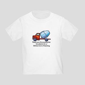 Thank you teacher gifts Toddler T-Shirt