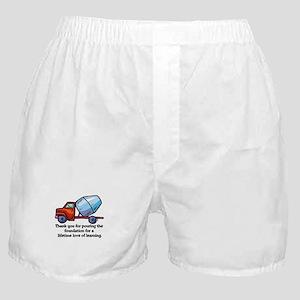 Thank you teacher gifts Boxer Shorts