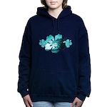 hibiscus surf Women's Hooded Sweatshirt