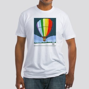 Chama Valley Balloon Rally Fitted T-Shirt